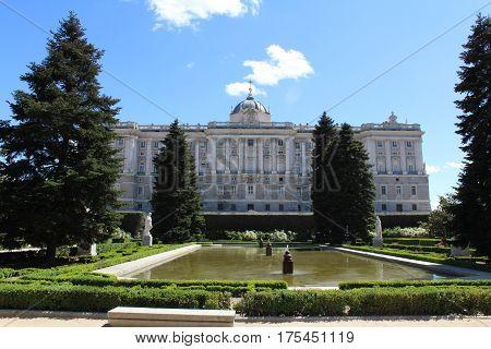 Palacio Real, Royal Palace, Madrid, Spain, Historical Building