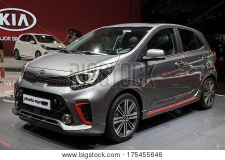 Kia Picanto Gt Line Car