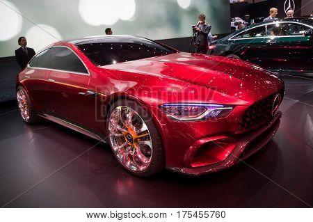 Mercedes-amg Gt Concept Car
