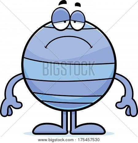 Sad Cartoon Neptune