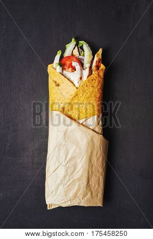 Wraped Sandwich With Chicken