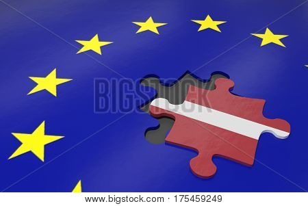 Latvia And Eu