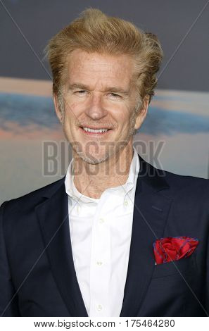 Matthew Modine at the Los Angeles premiere of 'Kong: Skull Island' held at the El Capitan Theatre in Hollywood, USA on March 8, 2017.