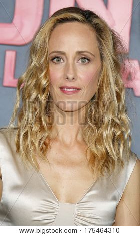 Kim Raver at the Los Angeles premiere of 'Kong: Skull Island' held at the El Capitan Theatre in Hollywood, USA on March 8, 2017.