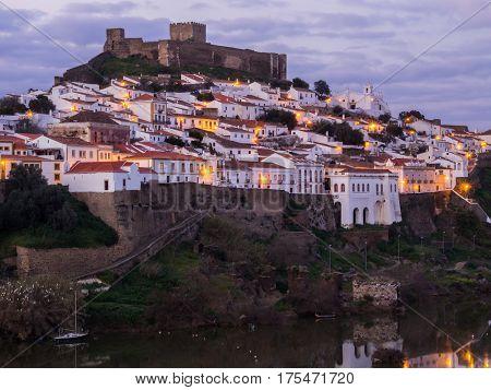 Mertola in Alentejo region in south Portugal.