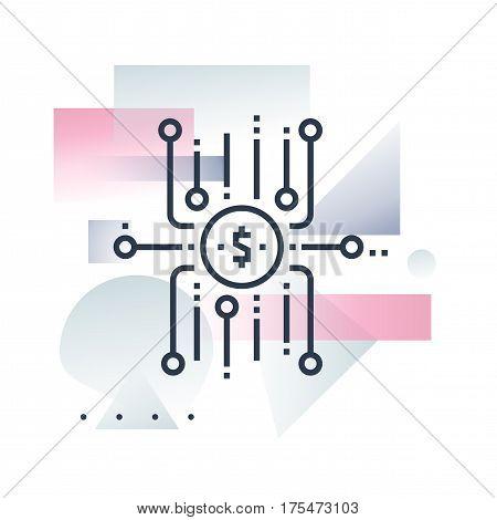 Crowdfund Platform Futuro Illustration