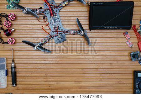 Build Drone Parts