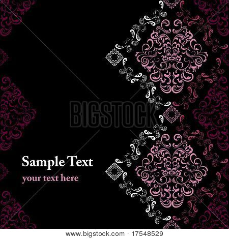 Abstract seamless stylish frame