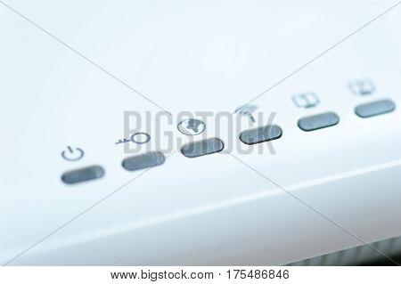 White Wi-fi Router