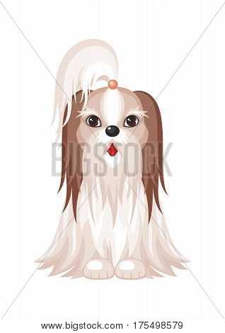 The Shih Tzu Dog.eps