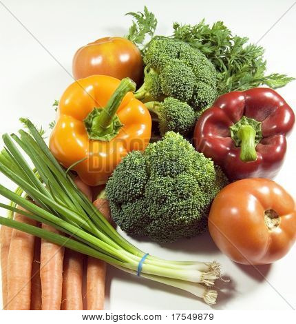 Photo Of A Vegetable Arrangement