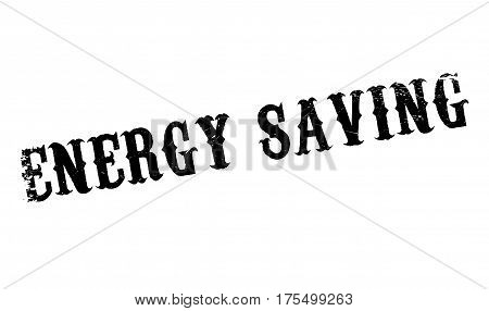 Energy Saving rubber stamp. Grunge design with dust scratches. Effects can be easily removed for a clean, crisp look. Color is easily changed.