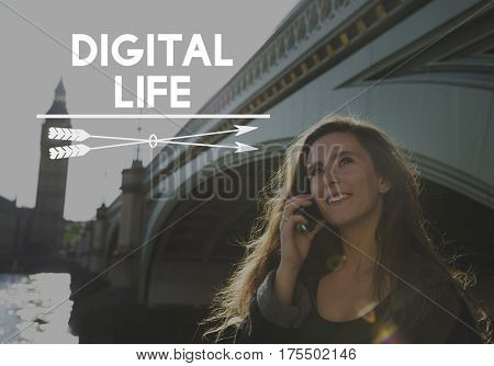 Technology Connection Digital Life Icon