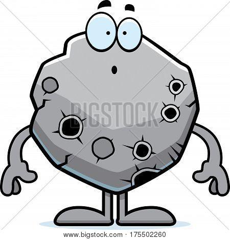 Surprised Cartoon Asteroid