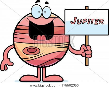 Cartoon Jupiter Sign