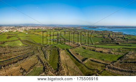 Aerial View Of Ribeira De Pardelhas