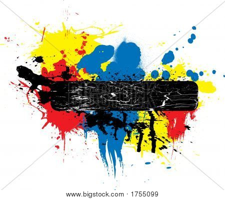 Paint Splat Place Holder
