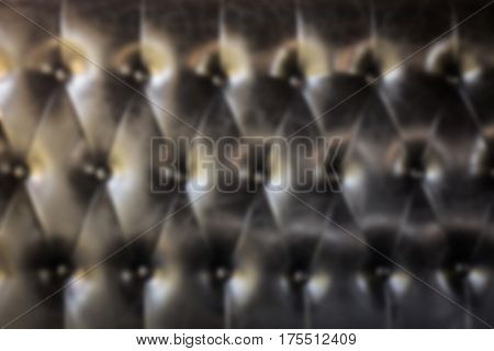 Leather Sofa In Living Room stock photo