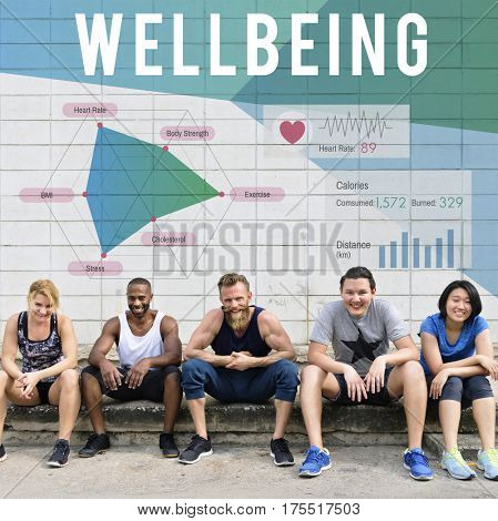 Wellbeing Exercise Healthy People Together
