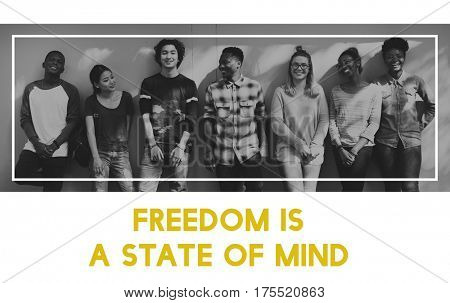 Freedom Mind Choice Positive Attitude