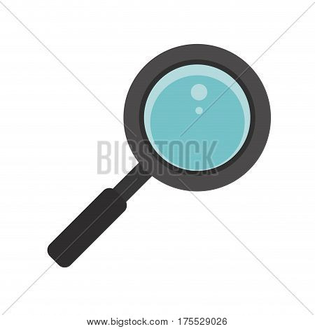 search loupe school icon vector illustration eps 10