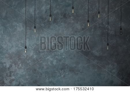 High resolution rough gray textured grunge concrete wall, background.