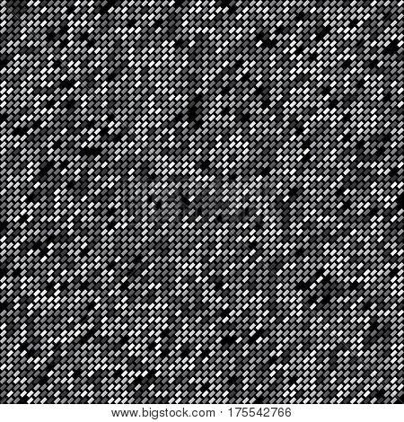 pattern with black and white oblique rectangles