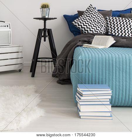 Minimalist Cosy Bedroom Interior