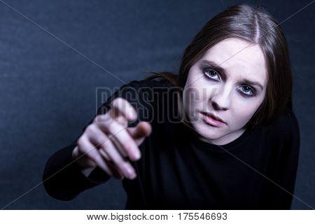 Depressed Girl Searching Help