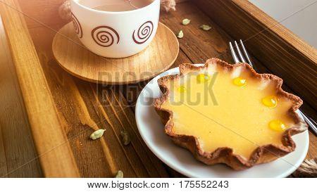 Lemon Tarts And Coffee
