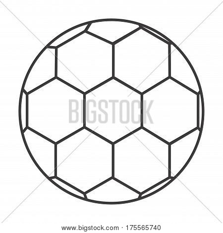 grayscale background with soccer ball vector illustration