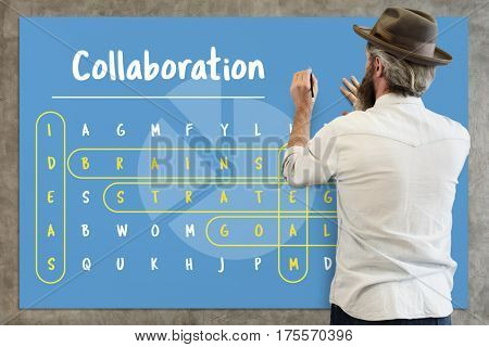 Word Search Game Challenge Vocabulary