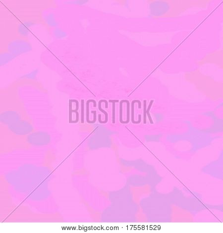 Abstract pink background of paint spots of pink shades of light and dark throughout the drawing