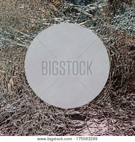 Foil. moke up. Brilliant silver white grey grey paper foil decorative texture background. metallic textures background