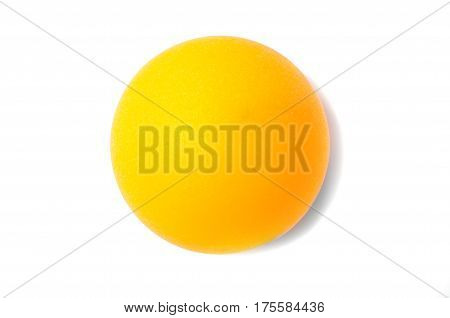 Table tennis ball, for ping pong close up