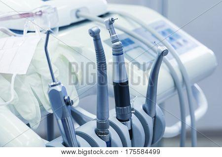 Dental Tools Closeup