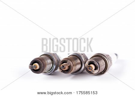 Used Dirty Spark Plugs For Cars