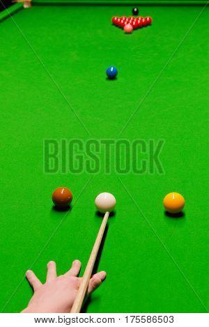 Opening Snooker Shot