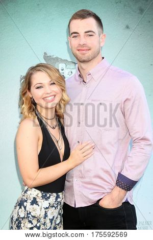 LOS ANGELES - JUL 19:  Sammi Hanratty, Lucas Speed Eichorn Watson, aka Speedy at the