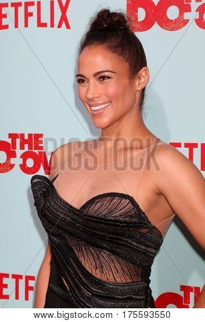 LOS ANGELES - MAY 16:  Paula Patton at the The Do-Over Premiere Screening at the Regal 14 Theaters on May 16, 2016 in Los Angeles, CA