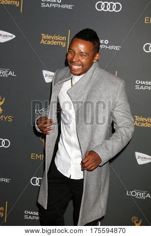 LOS ANGELES - SEP 16:  Allen Maldonado at the TV Academy Performer Nominee Reception at the Pacific Design Center on September 16, 2016 in West Hollywood, CA