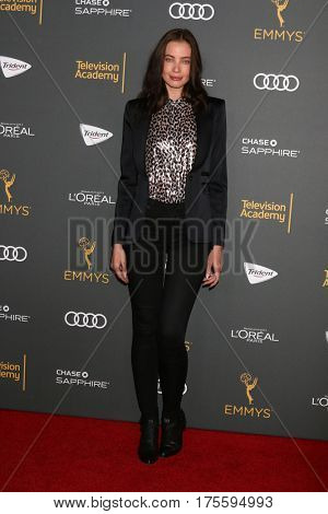 LOS ANGELES - SEP 16:  Stephanie Corneliussen at the TV Academy Performer Nominee Reception at the Pacific Design Center on September 16, 2016 in West Hollywood, CA