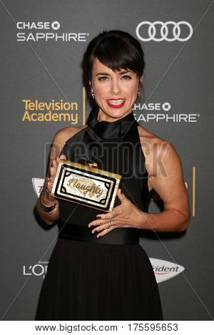 LOS ANGELES - SEP 16:  Constance Zimmer at the TV Academy Performer Nominee Reception at the Pacific Design Center on September 16, 2016 in West Hollywood, CA