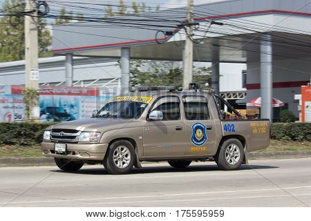 Ambulance Pickup For Volunteer Of Chiangmai Hightway Police