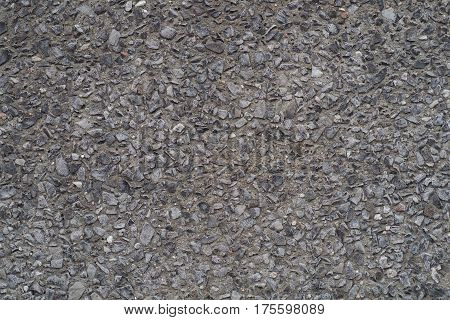 small rocks background dark texture wall pattern detail black concrete ciment
