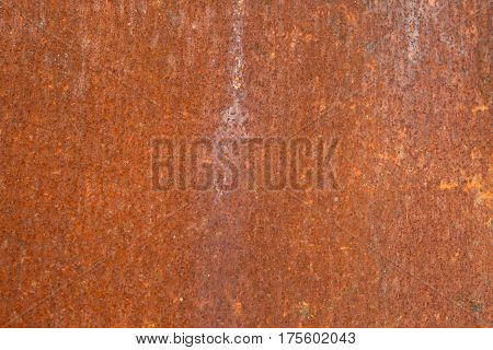 Close-up image of corroded metal surface may be used as rust texture