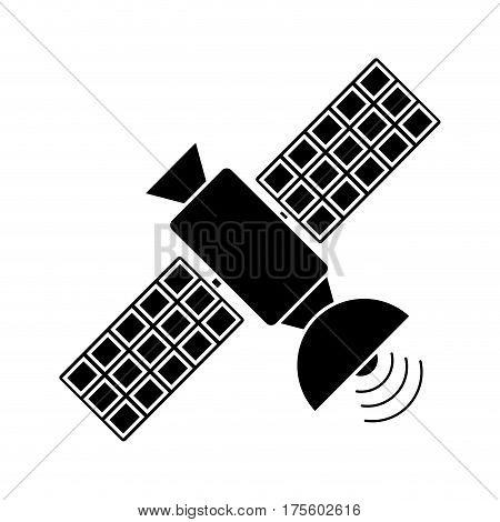 satellite antenna communication wireless pictogram vector illustration eps 10