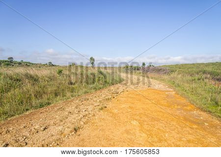Dirty Road To Fortaleza Canyon