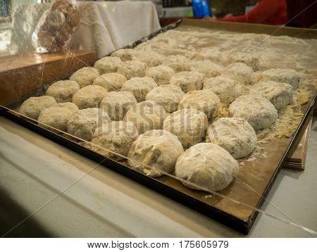 Conventual  Desserts. Sweet Pastry (toucinho Do Céu)