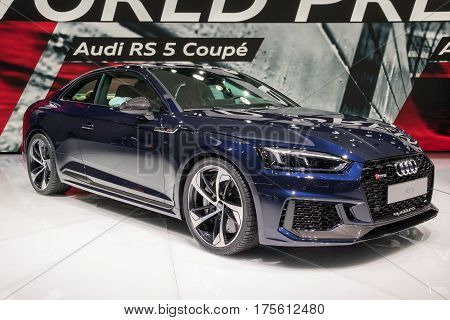 2017 Audi Rs5 Coupe Car